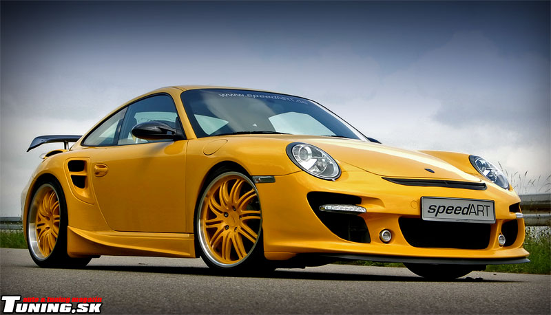 SpeedART Porsche 997 Turbo Tuning