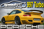 SpeedART Porsche 997 Turbo Tuning – a really lethal blade!