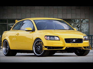 volvo c30 tuned by american evolve car tuning. Black Bedroom Furniture Sets. Home Design Ideas