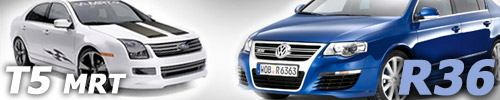 New Volkswagen Passat R36 and MRT Ford Fusion T5